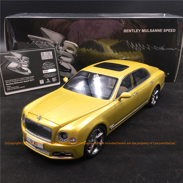 Bentley Mulsanne Speed 2017-Julep  (830101) diecast full open available now