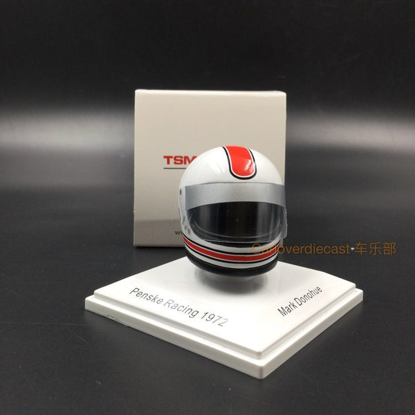 TSM-Model - 1/8 Miniature Helmet Mark Donohue 1972 Penske Racing Porsche 917/10 L&M (TSMAC001)