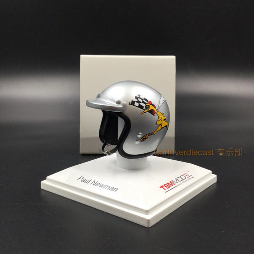 TSM - Helmet : Paul Newman 1977 P.L.N. Racing resin scale 1:8 (TSMAC0002)