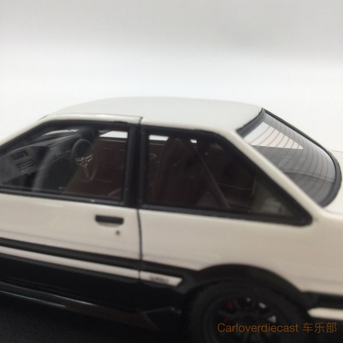 (Ignition Mode) Toyota Corolla Levin  (AE86) 2 Door GT Apex White / Black  (IG0464)