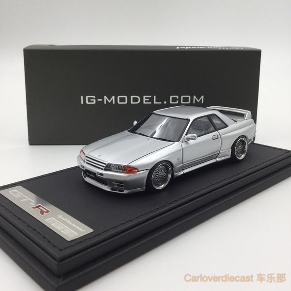 Mode d'allumage Nissan Nismo R32 GT-R S-tune Jet Silver Metallic (BB-Wheel) Resin Scale 1:43 IG0923