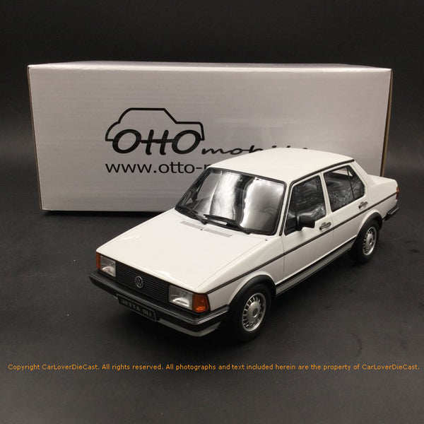 OttO Mobile 1:18 Volkswagen Jetta Mk1 GLI resin car model (OT291) limited 2000 pcs available  now