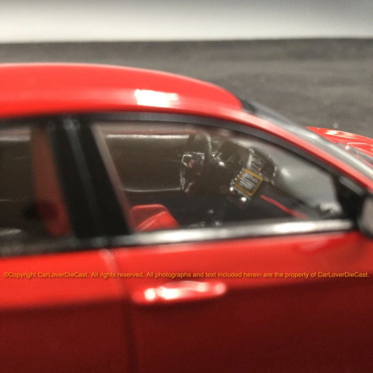 TSM 1:43 Honda Civic Type R 2017 Rallye Red (LHD) diecast car model (TSM43068)