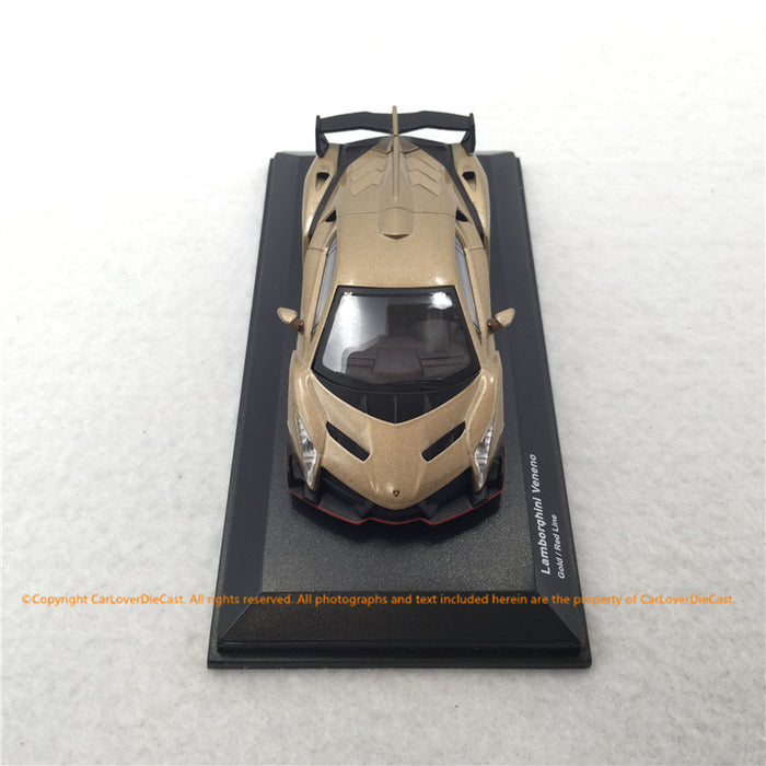 Kyosho 1:64 Lamborghini Veneno (4 colors) KS0704A1-4 diecat model available on Dec 2019 pre-order now get free gift