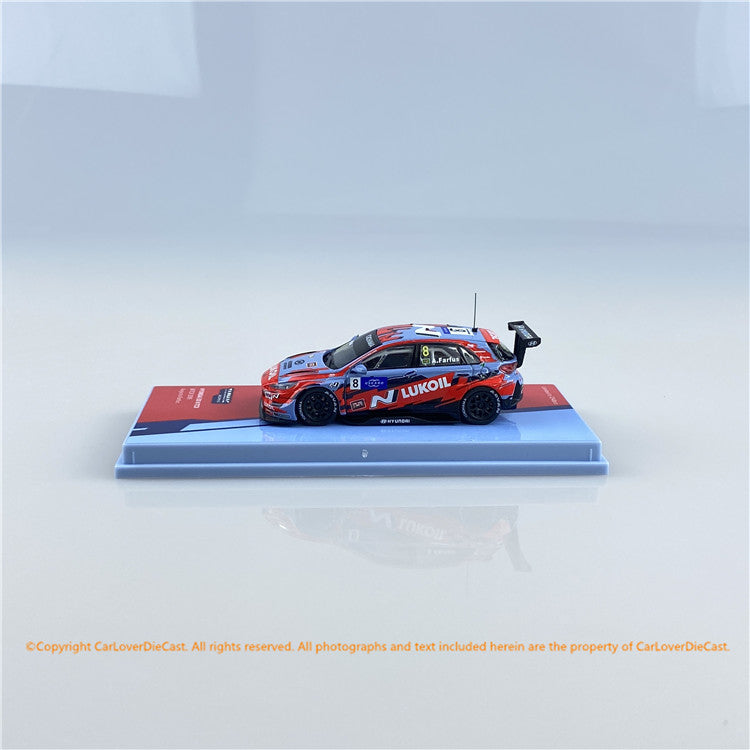Tarmac Works 1:64 Hyundai i30 N TCR WTCR 2019 Augusto Farfus (T64-031-19WTCR08) diecast car model available now
