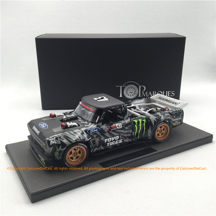 Top Marques 1:18 HOONIGAN Pickup SEMA Show Version (TOP90A) Limited 250 pcs