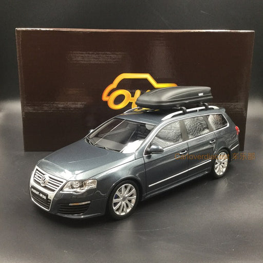 OttO Mobile 1:18 Volkswagen R36 B6 resin model (OT789) free  with Carriers (designo mocha black metallic) available now