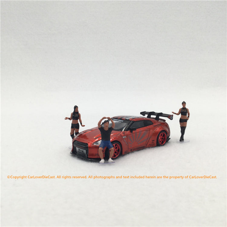 MINI GT 1:64 Figurine LB★Works Mr. Kato & Show Girls Type B (MGTAC05) available now