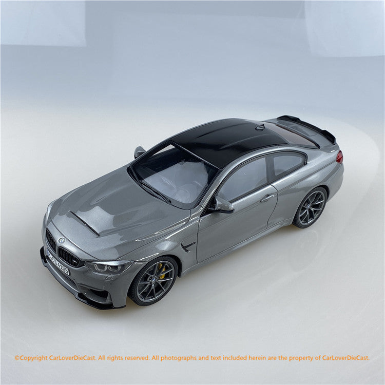GT Spirit 1:18 BMW M4 CS (GT832) Lime Rock Grey Metallic resin car model (CLDC Exclusive Edition) available on Oct  2020 pre-order item