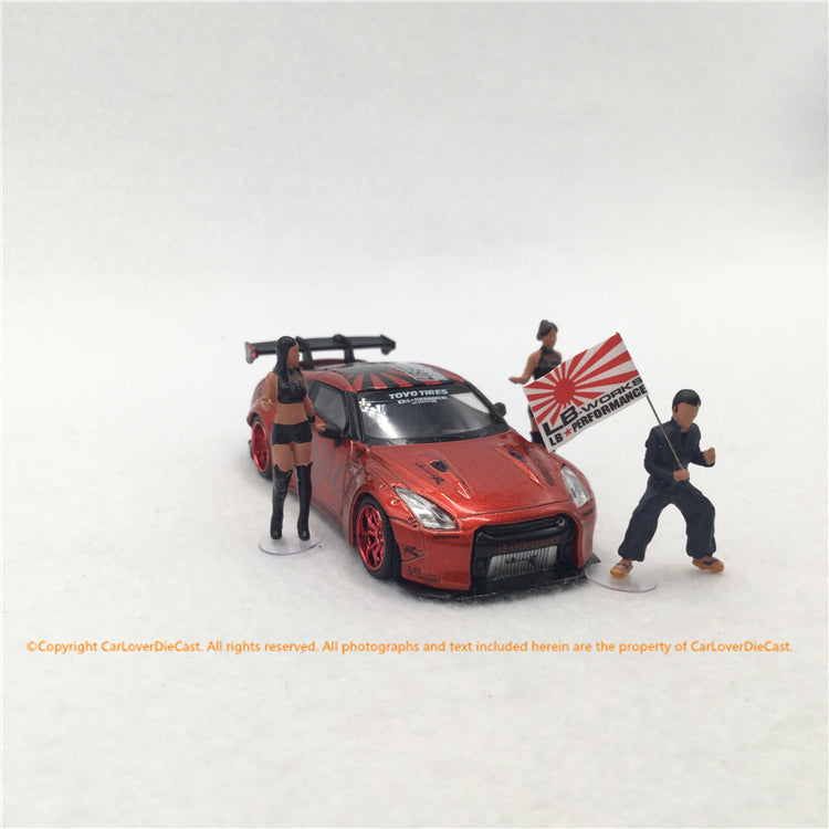 MINI GT 1:64 Figurine LB★Works Mr. Kato & Show Girls Type A (MGTAC04) available now