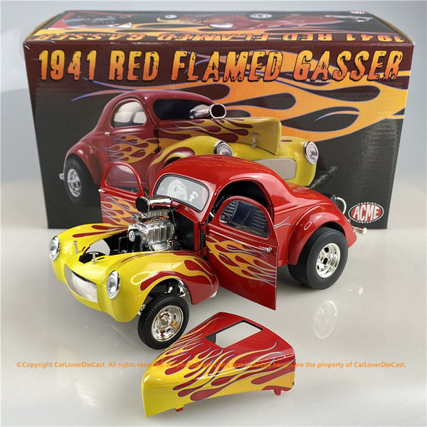 ACME 1:18 1941 Gasser with Flames (A1800916) Diecast car model available now