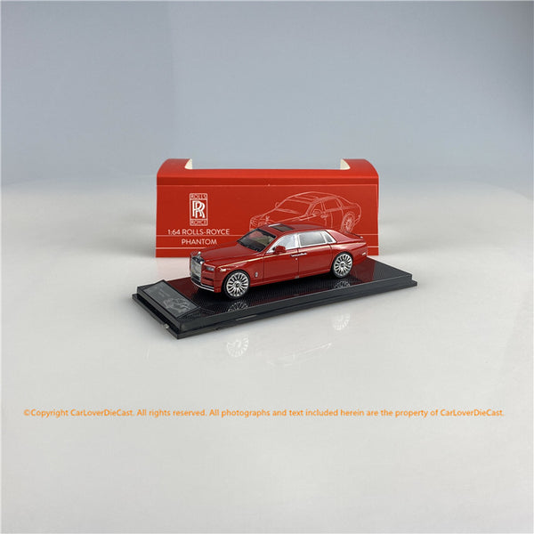 SMALLCARART 1:64  RR Phantom VIII RED (SK164005R) Diecast Car available on the end of November pre-order now