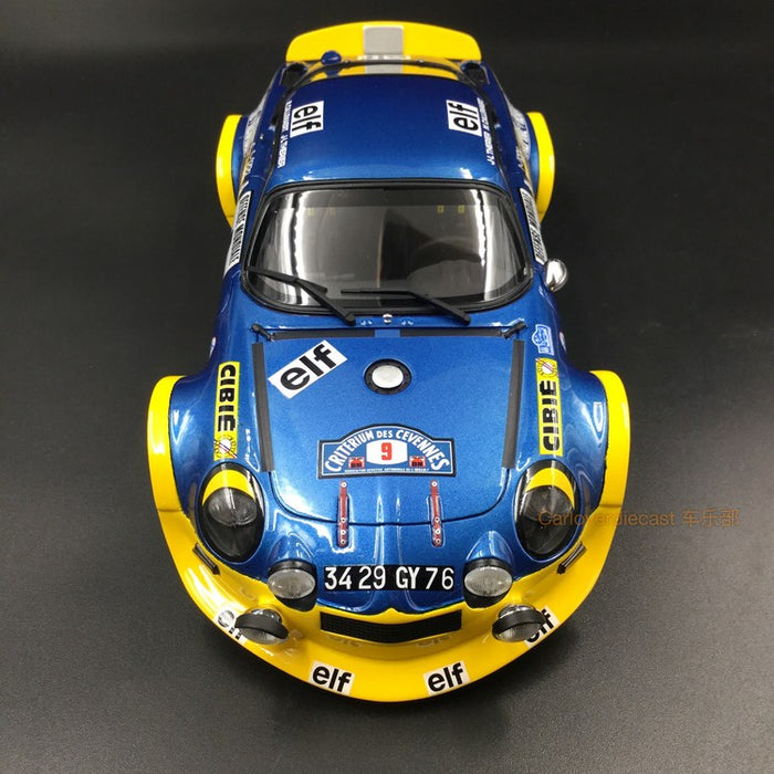 OttO Mobile - Alpine A110 Turbo Rallye resin scale 1:18 (OT249) limited 2000 pcs