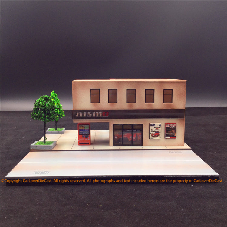 Magic City 1:64 Diorama (Car Garage ) MC003 available on end of Aug 2019 Pre-order now