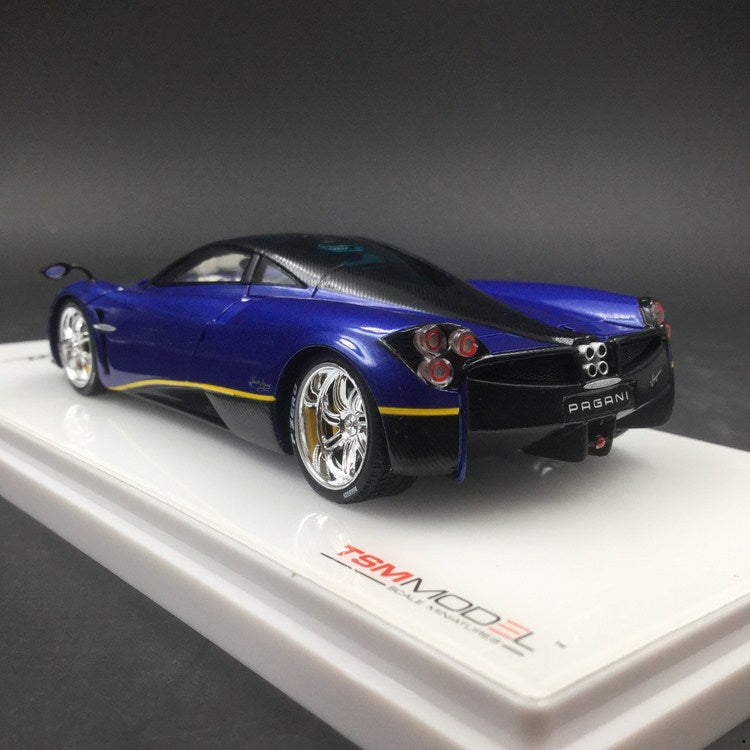 TSM 1:43 Pagani Huayra Blu Argentina (TSM430240) resin car model