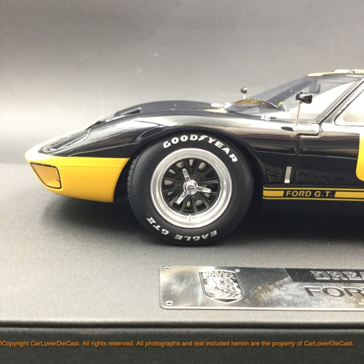 DreamPower 1:18 Ford GT40 MK1 resin model (Black Yellow ) Limited 188 pcs available  now