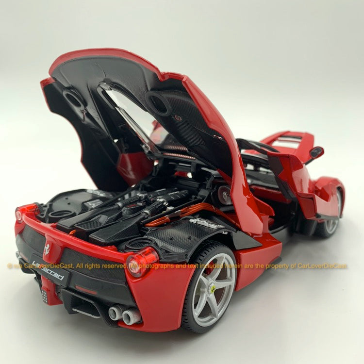 Bbruago 1:18 Ferrari LaFerrari  (18-16901-Red ) Red diecast car model