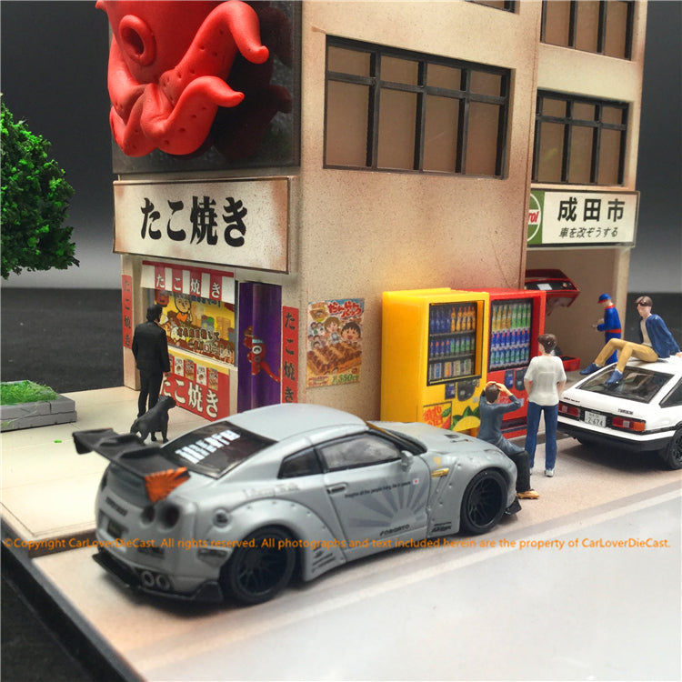 Magic City 1:64 Diorama (Octopus  shop) MC004 available on end of Aug 2019 Pre-order now