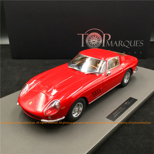 Top Marques - Ferrari 275 GTB /4 (Red) 1:12 resin model (TM12-04A) available now