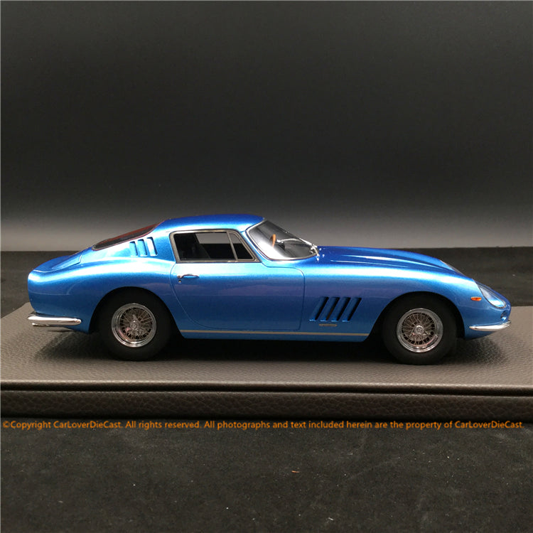Top Marques -  275 GTB4 (Blue)  resin scale 1:18 (TOP089C)