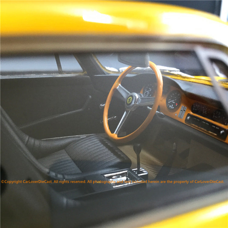 Top Marques - 275 GTB4 (Yellow)  resin scale 1:18 (TOP089B)