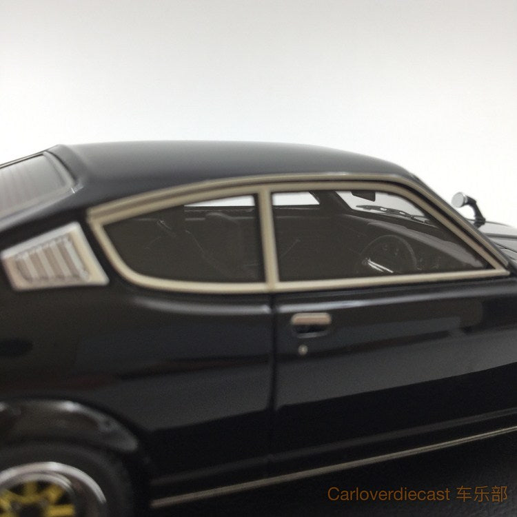 Ignition model - Mitsubishi Colt Galant GTO 2000GSR (A57) Black resin scale 1:43 - IG0642