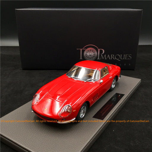 Top Marques - 275 GTB4 (Red)  resin scale 1:18 (TOP089A)