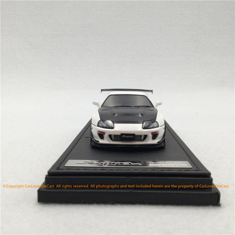 Ignition Model 1:43 Toyota Supra (JZA80)  RZ White (IG1430) resin car model available now