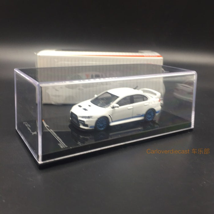 Tarmac works 1:64 diecast Mitsubishi EVO X 311RS available now T64-004-311RS