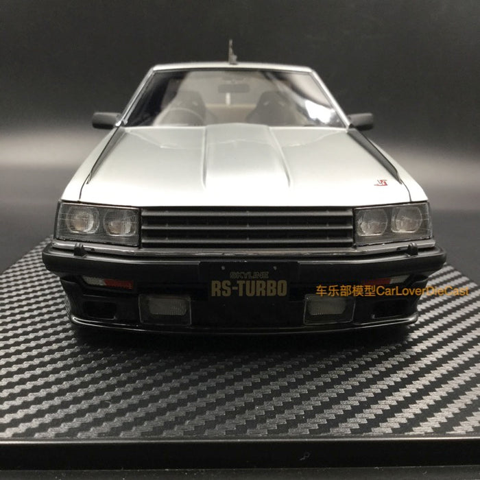 Ignition Model  Nissan Skyline 2000 RS-Turbo (R30) Silver Resin Scale 1/18 Model (IG0985) available now