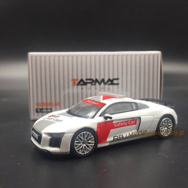 Tarmac Works 1:64 Audi R8 LMS Cup Safety Car (Silver Multi spoke wheels) T64G-001-ACSC