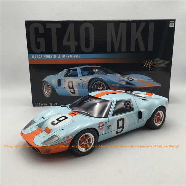 ACME 1:12 #9 GT40 MKI 1968 Le Mans Champion  (M1201004) Diecast full open restock available on the end of Jan 2021 pre-order item