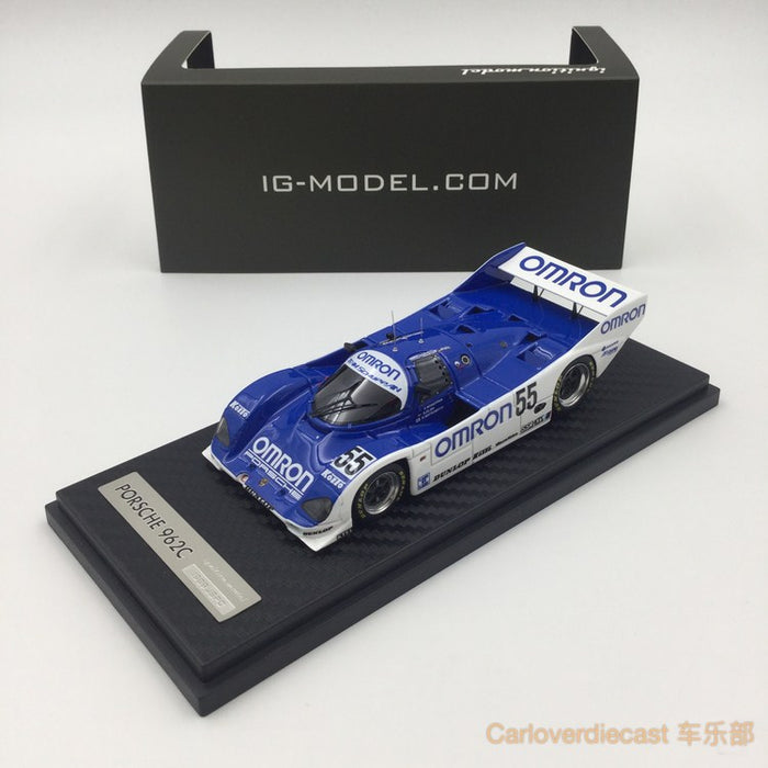 Ignition model - OMRON Porsche 962C (#55) 1989 JSPC resin scale 1:43 - IG0512