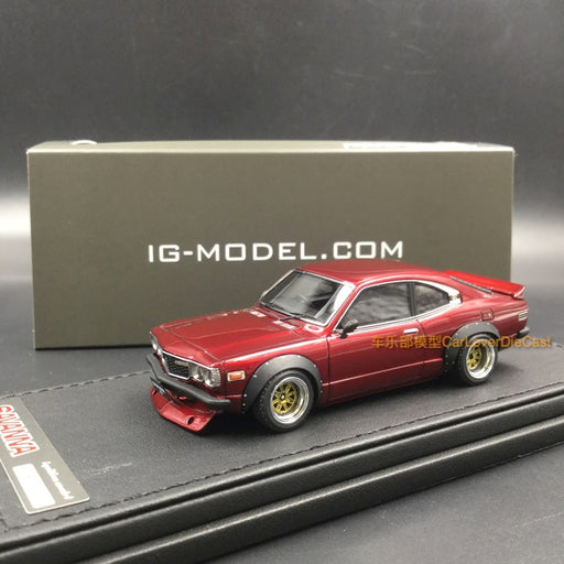 Ignition Model Mazda Savanna (S124A) Semi Works resin scale 1:43  (IG1164) Red Metallic available  now
