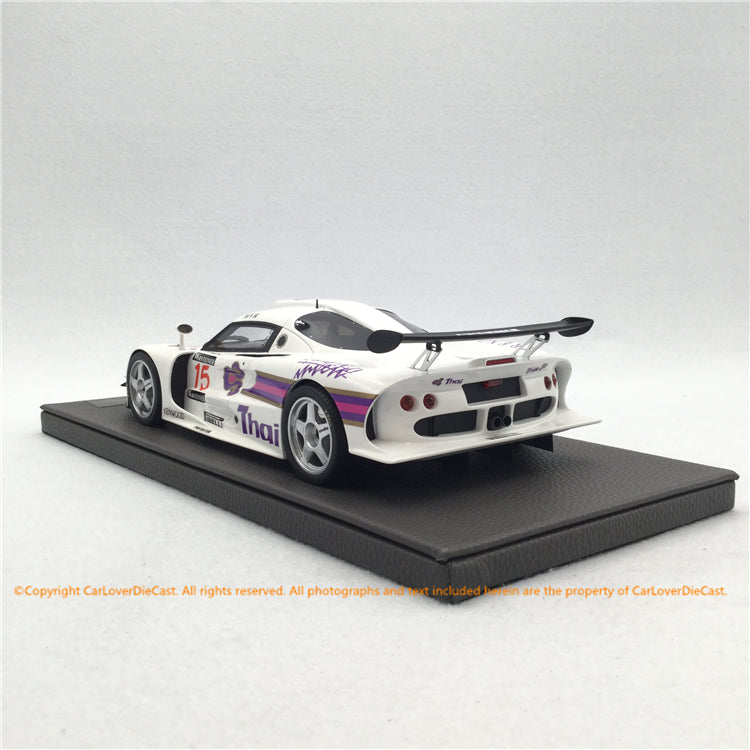Top Marques  1:18   Lotus Elise GT1 Thail Racing (TOP055B) resin car model available now