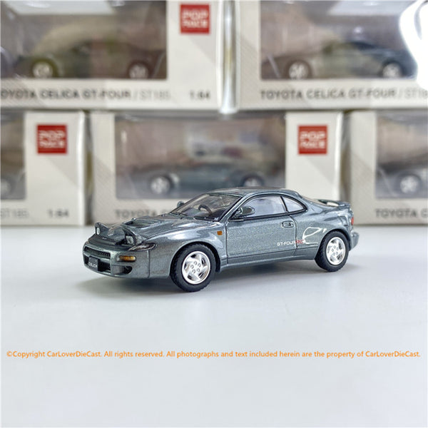 POPRACE 1/64 Toyota Celica GT-Four ST1 85 Grey Metallic  (PR64-185-GRY) diecast car model available now