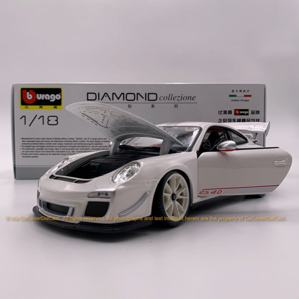 Bbruago 1:18 Porsche 911 GT3 RS 4.0 (18-11036 white) diecast car model