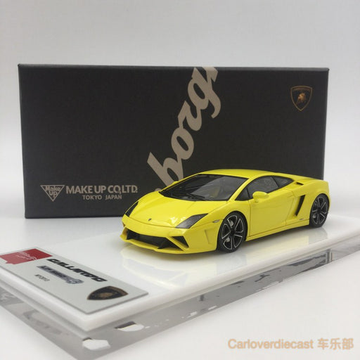 Makeup  Lamborghini Gallardo LP560-4 Super MY 2013  (Bright Pearl Yellow) resin scale 1:43(EM289A) available now