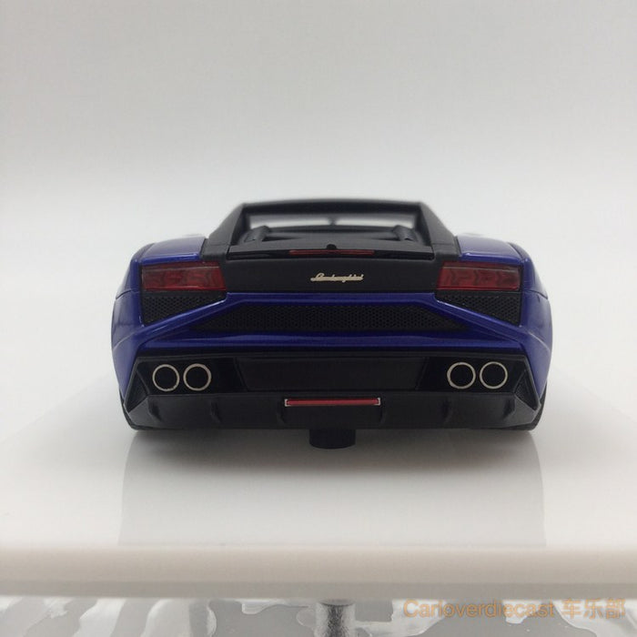 Makeup  Lamborghini Gallardo LP560-4 Super MY 2013  (Metallic Blue with black Roof) resin scale 1:43(EM289D) available now