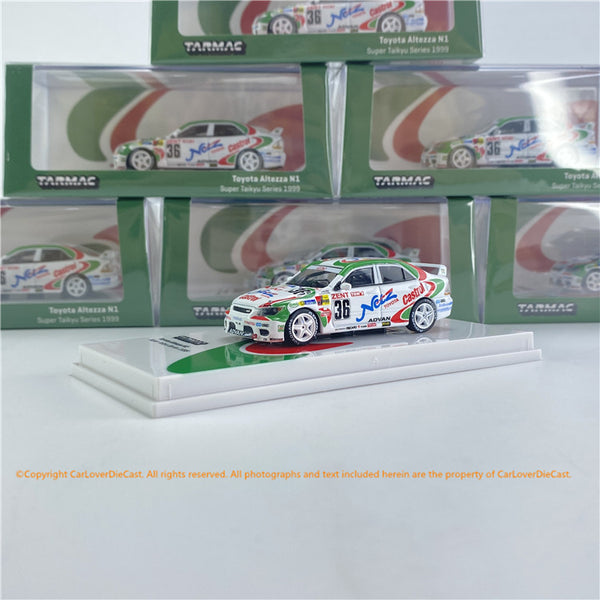 Tarmac Works 1:64 Toyota Altezza N1 Super Taikyu Series 1999  (T64-019-99ST36) Diecast car model available now