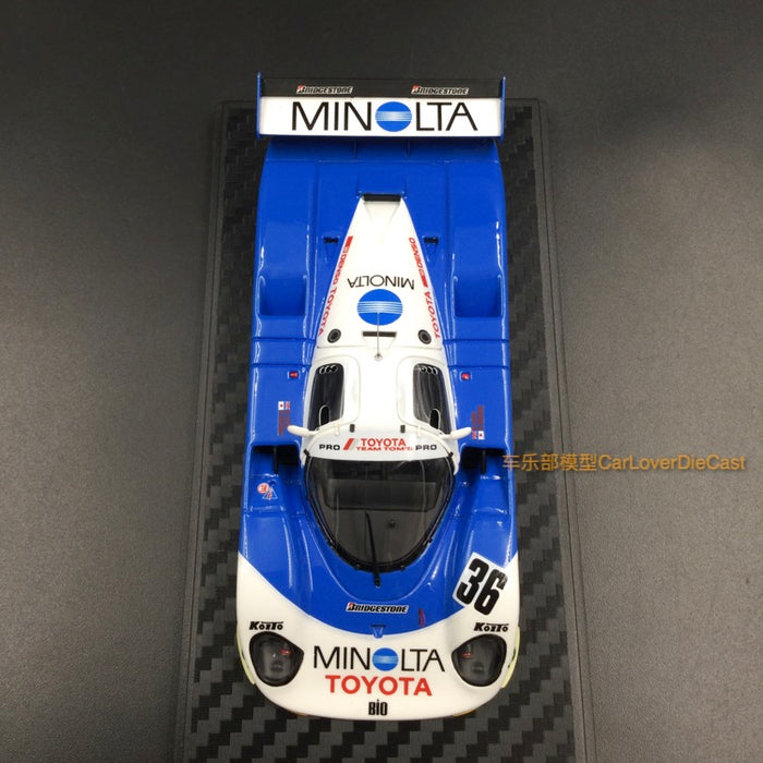 Ignition Model MINOLTA Toyota 89C-V (#36) 1989 JSPC Resin Scale 1/43 Model (IG1199) available  now
