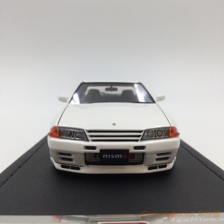 ignition Model - Nismo R32 GT-R S-tune resin scale 1:43 Crystal White (Nismo-wheel) IG0921