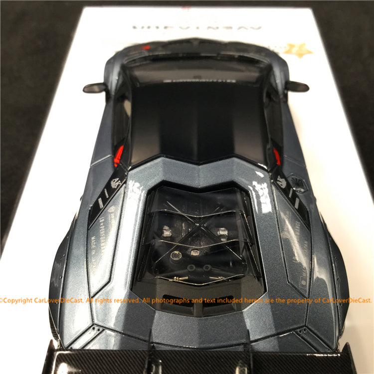 Fuelme 1:43 Liberty Walk Aventador 50th Limited edition (Metallic Gray) FM43008-50LE-WN02 resin car model available now