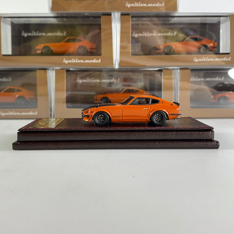 Ignition Model 1/64 Fairlady Z (S30) Orange (IG2308) Resin car model