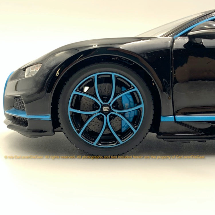 Bbruago 1:18 Bugatti Chiron 18-11040 Black diecast car model