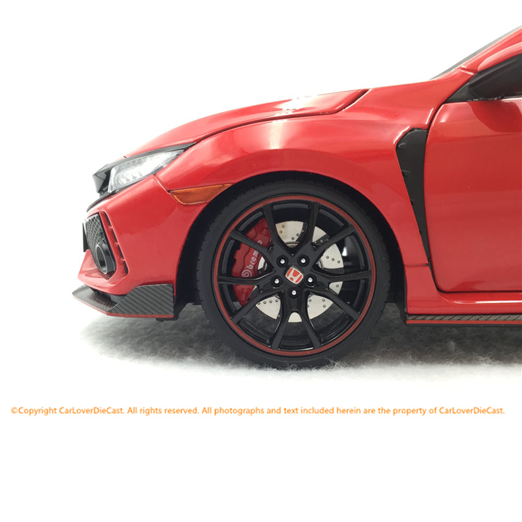 LCD 1:18 Honda Civic FK8 (Red) diecast full open car model available now LCD18005RE