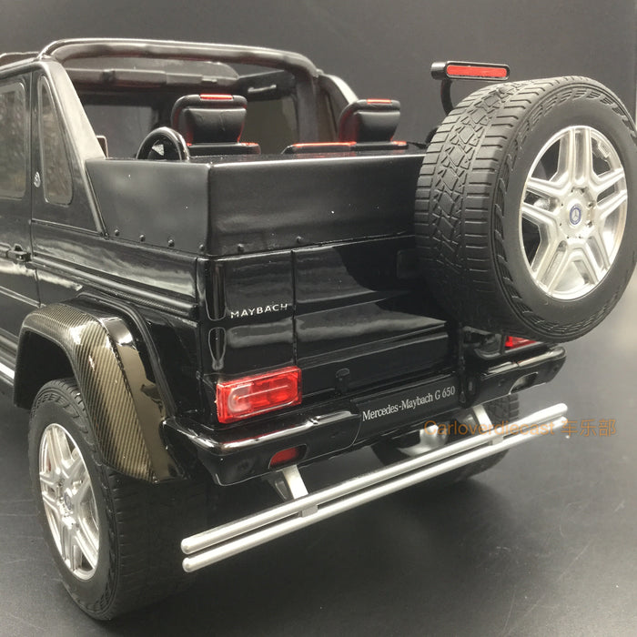 GT Spirit - MAYBACH G650 LANDAULET (Designo Mocha Black) resin scale 1:18 (GT721) limited 504 pcs available on end of Sep 2018 pre-order now