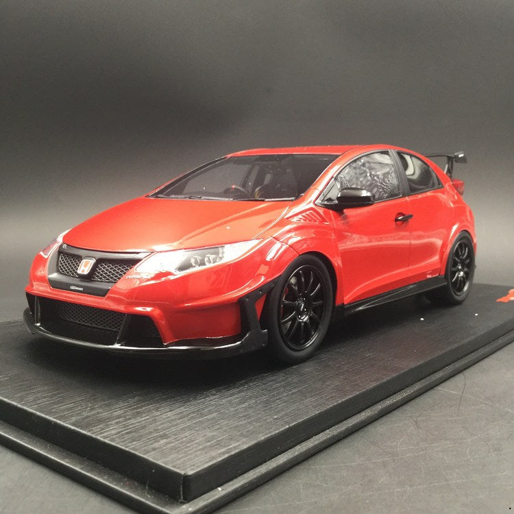 TopSpeed - Honda MUGEN Civic Type R  Milano Red Resin scale 1:18 (TS0113) limited 999pcs available now