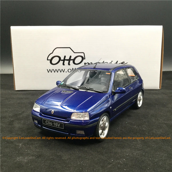 OttO Mobile 1:18 Renault Clio 16v Ph.2 resin car model (OT744) Limited 1500 pcs available now