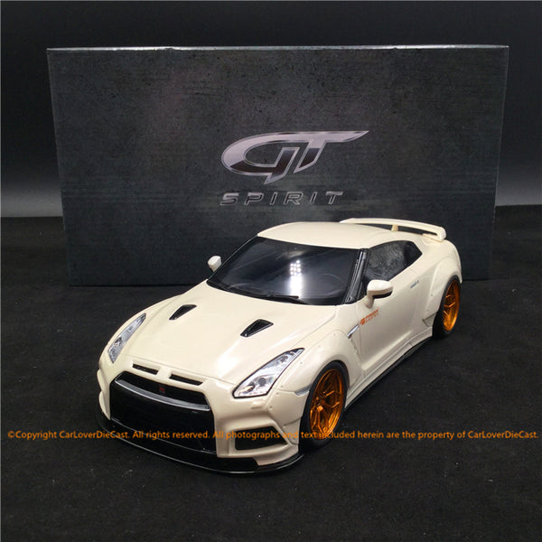 GT Spirit 1:18 PRIOR DESIGN GT-R R35 modèle de résine (KJ030) Asian Exclusive Edition Limited 504 unités
